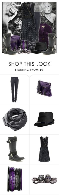 """""""New contest:RICH BACKGROUND!!!"""" by m-e-r-c-y ❤ liked on Polyvore featuring SCARLETT, Gareth Pugh, Tano, H&M, Miss Sixty, Luella and Alexander McQueen"""