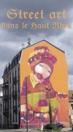 street art dans le Haut Rhin, balade dans les rues de Mulhouse et Altkirch