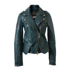 Just Cavalli Green 100% Leather Jacket US 4 EU 40 Just Cavalli,http://www.amazon.com/dp/B00GS6OBIM/ref=cm_sw_r_pi_dp_BXOdtb0RSXFZGENS