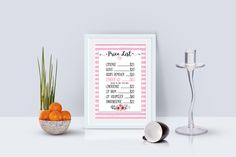 0b65f19fa8a97c Lips price list printable -LipSense Price- Price List Printable -  Watercolor pink Price List. Zibbet