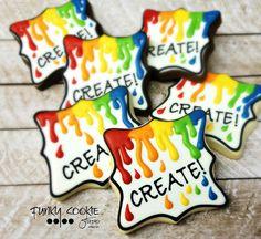 Paint Splash Cookies | Jill FCS