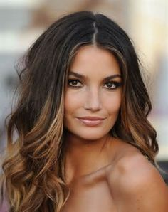 Image detail for -Dark Brown Hair With Caramel Brown Highlights