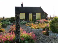 Derek Jarman zahrada - Prospect Cottage