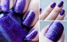 """GORGEOUS color! Want so bad... too bad OPI DS (this is """"Temptation"""") is so expensive!"""