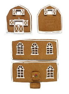 Piparkakkutaituri Kristiina Aaltonen rakensi kodikkaan mummolan talon pihapiireineen. Voit tehdä oman joulutalosi omien ideoittesi pohjalta tai rakentaa ta Ginger House, Gingerbread, Sugar, Cookies, Christmas, Food, Pasta, Crack Crackers, Xmas