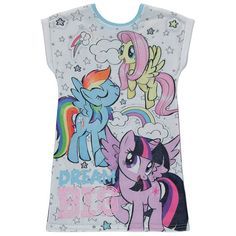 Lasten My Little Pony yöpaita Types Of Shirts, Shirt Types, Asda, Kids Online, My Character, Latest Fashion For Women, Night Gown, My Little Pony, Kids Toys