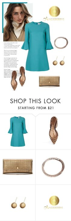 """""""Elegant Look"""" by isidora ❤ liked on Polyvore featuring Valentino, Sam Edelman, Alexander McQueen and Angieberrys"""