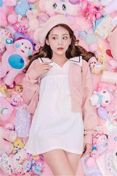 Kawaii fashion, fashion outfits, debut photoshoot, pink aesthetic, all thin Harajuku Fashion, Kawaii Fashion, Fashion Outfits, Japanese Fashion, Asian Fashion, Ulzzang, Mode Kawaii, Sailor Dress, All Things Cute
