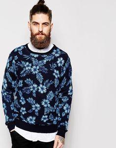 Espero que alguien se feliz y compre esta sudadera Scotch+&+Soda+Sweatshirt+with+Floral+Print