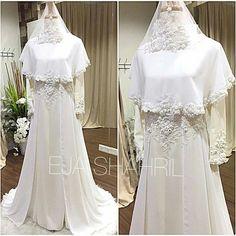 Muslimah Wedding Dress, Muslim Wedding Dresses, Muslim Dress, Dream Wedding Dresses, Bridal Dresses, Wedding Gowns, Bridal Hijab, Wedding Hijab, Groom Dress