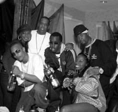 T.I., Jay Z, Memphis Bleek, P. Diddy, Mary J. Blige, and Foxy Brown