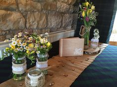 Venue Decorations | Vickys Flowers - Wedding Flower service with style and creativity | East Calder , West Lothian Flower Service, Yellow Wedding Flowers, Creativity, Table Decorations, Home Decor, Style, Swag, Stylus, Interior Design
