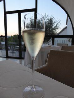 """Cena, """"Cielo""""(Ristorante) di """"Relais La Sommita Hotel"""", Ostuni Puglia Italia (Luglio)"""