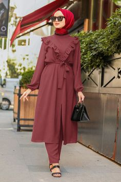 Muslim Dress, Hijab Dress, Stylish Kurtis Design, The Dress, Hijab Fashion, Nevada, Evening Dresses, Suits, Model