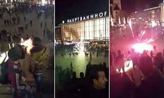 German police hunt for group of up to 1,000 men Arab and North African men over sex attacks #DailyMail