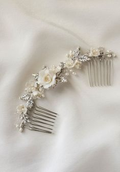 VERSE floral bridal hair comb 03