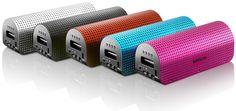 #Lenco Grid-7 - Nouvelle #enceinte portable #Bluetooth estivale