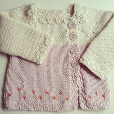 Ravelry: Little Miss X pattern by Gralina Frie, not free Knitting For Kids, Baby Knitting Patterns, Crochet For Kids, Baby Patterns, Knit Crochet, Miss X, Knitted Baby Clothes, Baby Knits, Baby Cardigan