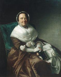 Mrs. Sylvanus Bourne  Artist: John Singleton Copley  Date: 1766 Medium: Oil on canvas Accession Number: 24.79