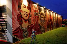miami+mural+art | -air art park launched during Art Basel 2009. The 12 expansive murals ...