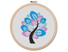 Hey, I found this really awesome Etsy listing at https://www.etsy.com/listing/223466653/winter-tree-counted-cross-stitch-pattern
