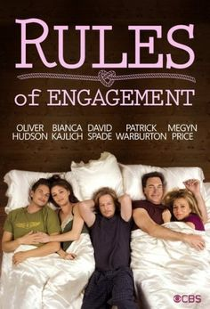 cuddling and laughing while watching Rules of Engagement with you