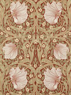 Pimpernel  Behang William Morris