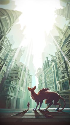 Here's amazing fan-art by Montreal-based artist Francois Coutu of The Last Guardian, a game that's long overdue, but hopefully will see the light of day soon.