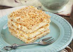 Tarta Napoleón Te enseñamos a cocinar recetas fáciles cómo la receta de Tarta Napoleón y muchas otras recetas de cocina..