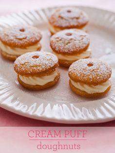 Cream Puff Doughnuts