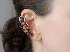 Záušnice z mědi s korálky tyrkysu afrického • galena-shop.cz Earrings, Shop, Jewelry, Fashion, Ear Rings, Jewellery Making, Moda, Stud Earrings, Jewerly