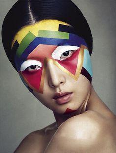 Sung Hee by Benjamin Vnuk for Bon Magazine October 2012.