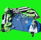 For Sale - Seattle Sounders FC Soccer Gear! Scarf, 2 Beanies, Signed Hat, Jersey, Umbrella - See More at http://sprtz.us/SoundersEBay
