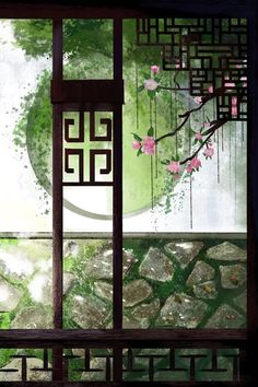By Artist Unknown. Japanese Prints, Japanese Art, Image Japon, Digital Foto, Shotting Photo, Art Asiatique, China Art, Jolie Photo, Anime Scenery