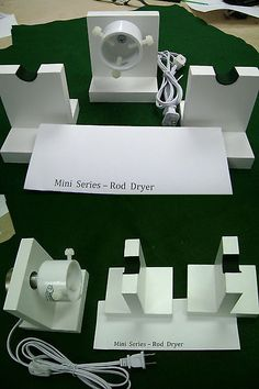 Other Rod Building and Repair 62147: Mini Series --- 20-24 Rpm-Rod Drying-Dryer Motor Kit - - 2 Rod Stands -> BUY IT NOW ONLY: $38 on eBay!
