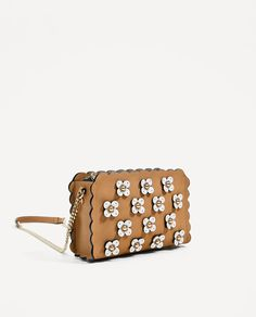bac30ad3dfc7 ZARA - TRF - CROSSBODY BAG WITH FLOWERS New Look Fashion