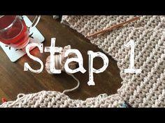 Iedereen kan haken© 1-2-3 Vest deel 1 how to crochet a singlet, Zeeman Luxury wol. - YouTube