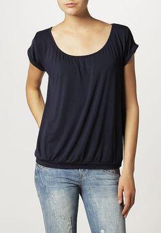 Soyaconcept T-paita - navy - Zalando. V Neck, Navy, Tops, Women, Fashion, Hale Navy, Moda, Women's, Fashion Styles