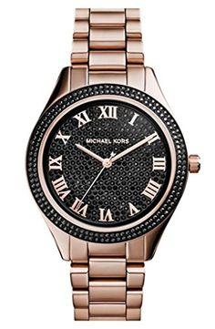 Michael Kors MK3320 Women's Blake Black Pavé Dial Rose Gold Tone Stainless Steel Bracelet Watch Michael Kors http://www.amazon.com/dp/B00NI5CSNG/ref=cm_sw_r_pi_dp_YbpCub0C7EAKK