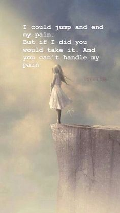You will never be able to handle my pain. True Quotes, Best Quotes, Qoutes, Under Your Spell, Depression Quotes, How I Feel, Word Porn, In My Feelings, Deep Thoughts