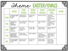 Mrs. Plemons' Kindergarten: Tot School Tuesday: EASTER