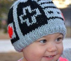 Knit Nintendo NES Controller Hat | Geek-a-bye Baby