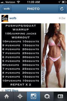 Squats, squats, squats!!!
