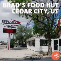 Brad's Food Hut in downtown Cedar City, Utah | The Salt Project | Things to do in Utah with kids