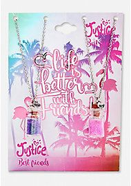 image of BFF Flamingo Potion Necklaces with sku:1023125
