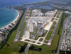 International Airport , Luis Muñoz Marin. San Juan, PR