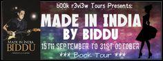 b00k r3vi3w Tours: #BookTour :: Made in India by Biddu