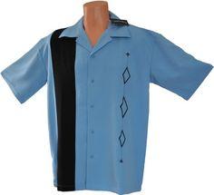 Mens Retro Bowling Shirt, BIG & TALL sizes: Medium, L, XL, 2XL, 3XL $37.90 - $51.90