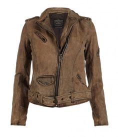 Bronx Leather Biker Jacket, AllSaints Spitalfields.    Making me weep...