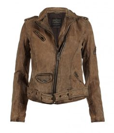 Bronx Leather Biker Jacket, AllSaints Spitalfields.    Making me weep...